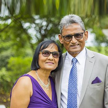Pastor Rosh & Mervyn Peters
